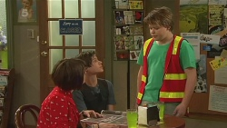 Sophie Ramsay, Corey O'Donahue, Callum Jones in Neighbours Episode 6322