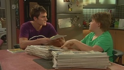 Kyle Canning, Callum Jones in Neighbours Episode 6322