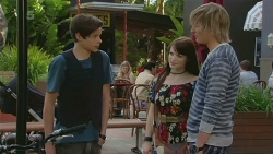 Corey O'Donahue, Summer Hoyland, Andrew Robinson in Neighbours Episode 6323