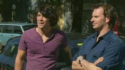 Aidan Foster, Lucas Fitzgerald in Neighbours Episode 6323