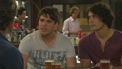 Lucas Fitzgerald, Chris Pappas, Aidan Foster in Neighbours Episode 6323