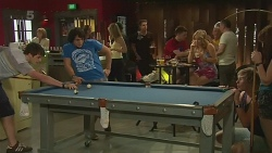 Chris Pappas, Aidan Foster, Natasha Williams, Andrew Robinson, Summer Hoyland in Neighbours Episode 6324