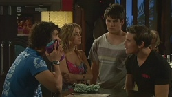 Aidan Foster, Natasha Williams, Chris Pappas, Vaughn Redden in Neighbours Episode 6324