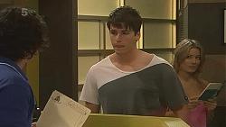 Aidan Foster, Chris Pappas, Natasha Williams in Neighbours Episode 6325