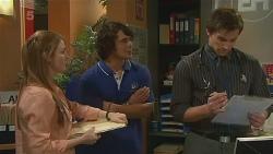Erin Salisbury, Aidan Foster, Rhys Lawson in Neighbours Episode 6325