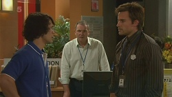 Aidan Foster, Karl Kennedy, Rhys Lawson in Neighbours Episode 6325
