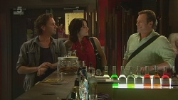 Lucas Fitzgerald, Emilia Jovanovic, Michael Williams in Neighbours Episode 6328