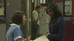 Sophie Ramsay, Michael Williams, Priya Kapoor in Neighbours Episode 6328