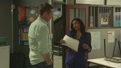Michael Williams, Priya Kapoor in Neighbours Episode 6328