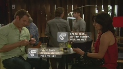 Michael Williams, Lucas Fitzgerald, Chris Pappas, Emilia Jovanovic in Neighbours Episode 6329