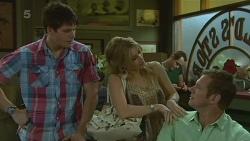 Chris Pappas, Natasha Williams, Michael Williams in Neighbours Episode 6329