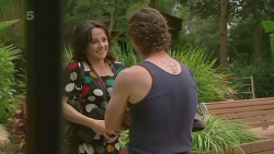 Emilia Jovanovic, Lucas Fitzgerald in Neighbours Episode 6330