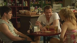 Chris Pappas, Michael Williams, Natasha Williams in Neighbours Episode 6331