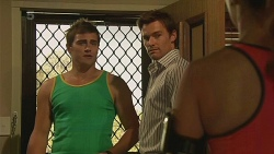 Kyle Canning, Rhys Lawson, Jade Mitchell in Neighbours Episode 6331