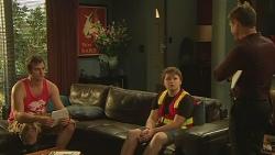 Kyle Canning, Callum Jones, Paul Robinson in Neighbours Episode 6334
