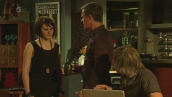Sophie Ramsay, Paul Robinson, Andrew Robinson in Neighbours Episode 6335