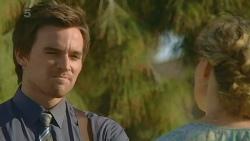 Rhys Lawson, Roz Challis in Neighbours Episode 6335