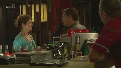 Susan Kennedy, Paul Robinson, Karl Kennedy in Neighbours Episode 6335