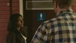 Priya Kapoor, Michael Williams in Neighbours Episode 6336