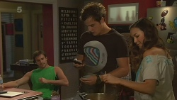 Rhys Lawson, Kyle Canning, Jade Mitchell in Neighbours Episode 6337