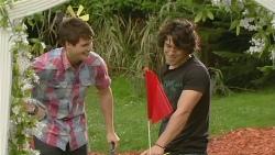 Chris Pappas, Aidan Foster in Neighbours Episode 6339
