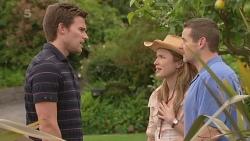 Rhys Lawson, Sonya Mitchell, Toadie Rebecchi in Neighbours Episode 6341