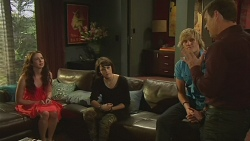 Kate Ramsay, Sophie Ramsay, Andrew Robinson, Paul Robinson in Neighbours Episode 6344
