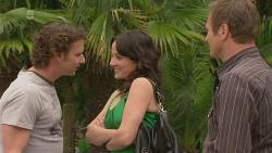 Lucas Fitzgerald, Emilia Jovanovic, Michael Williams in Neighbours Episode 6345
