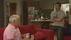Lou Carpenter, Lucas Fitzgerald in Neighbours Episode 6345