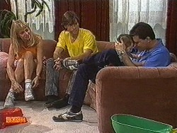 Jane Harris, Mike Young, Jamie Clarke, Des Clarke in Neighbours Episode 0726