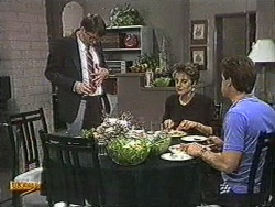 David Bishop, Gail Robinson, Paul Robinson in Neighbours Episode 0726