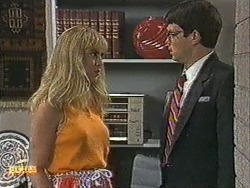 Jane Harris, David Bishop in Neighbours Episode 0726