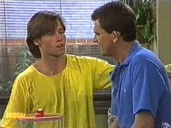 Mike Young, Des Clarke in Neighbours Episode 0726