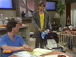 Des Clarke, Mike Young, Jamie Clarke in Neighbours Episode 0726