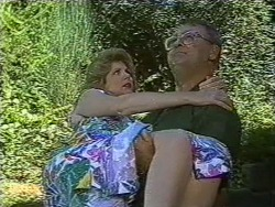 Madge Bishop, Harold Bishop in Neighbours Episode 0727