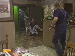 Madge Bishop, Harold Bishop, Henry Ramsay in Neighbours Episode 0727