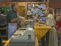 Harold Bishop, Jane Harris in Neighbours Episode 0727