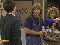 David Bishop, Henry Ramsay, Madge Bishop in Neighbours Episode 0728