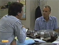 Paul Robinson, Jim Robinson in Neighbours Episode 0728