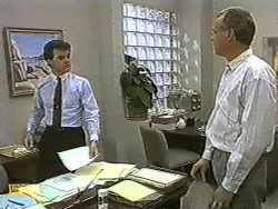 Paul Robinson, Jim Robinson in Neighbours Episode 0729