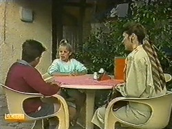 Todd Landers, Katie Landers, Beverly Marshall in Neighbours Episode 0729