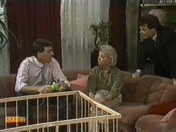 Des Clarke, Helen Daniels, Paul Robinson in Neighbours Episode 0729
