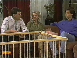 Des Clarke, Helen Daniels, Mike Young in Neighbours Episode 0729