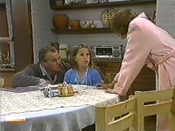 Jim Robinson, Katie Landers, Beverly Marshall in Neighbours Episode 0729