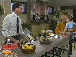 Des Clarke, Carol Barker, Jamie Clarke in Neighbours Episode 0729