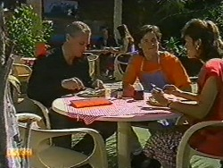 Jim Robinson, Mike Young, Beverly Marshall in Neighbours Episode 0730