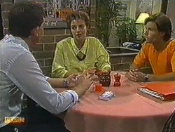 Des Clarke, Gail Robinson, Mike Young in Neighbours Episode 0730
