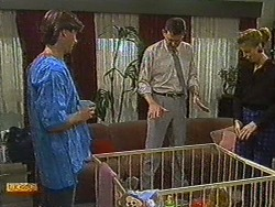 Mike Young, Des Clarke, Carol Barker in Neighbours Episode 0730