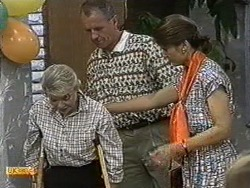 Helen Daniels, Jim Robinson, Beverly Marshall in Neighbours Episode 0731