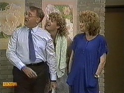 Harold Bishop, Henry Ramsay, Madge Bishop in Neighbours Episode 0731
